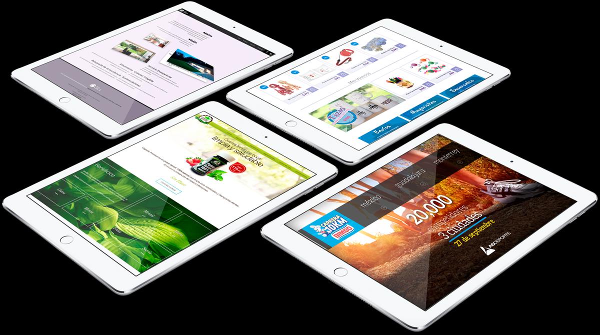 proyectos de diseño web y gráfico